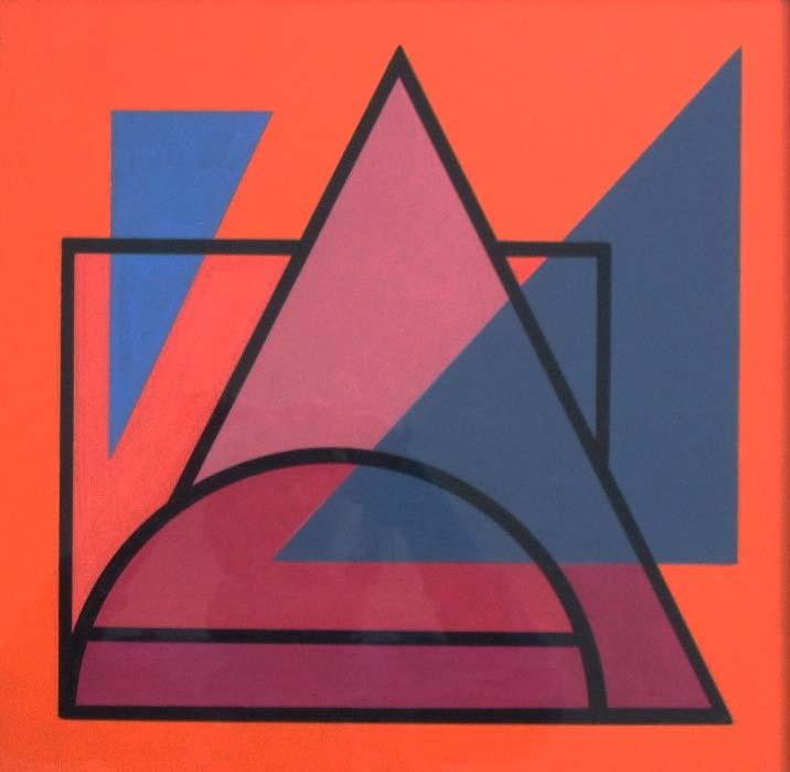 Vandenbranden guy art abstrait art construit formes for Abstraction geometrique peinture